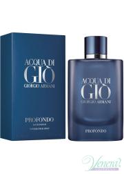 Armani Acqua Di Gio Profondo EDP 75ml για άνδρες ασυσκεύαστo Ανδρικά Аρώματα χωρίς συσκευασία