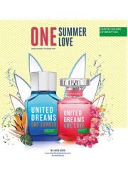 Benetton United Dreams One Love EDT 80ml για γυναίκες