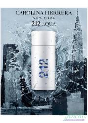Carolina Herrera 212 Men Aqua EDT 100ml για άνδρες ασυσκεύαστo Ανδρικά Аρώματα χωρίς συσκευασία