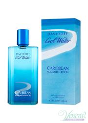 Davidoff Cool Water Caribbean Summer Edition EDT 125ml για άνδρες ασυσκεύαστo Ανδρικά Αρώματα χωρίς συσκευασία