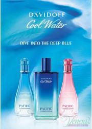 Davidoff Cool Water Pacific Summer EDT 125ml για άνδρες ασυσκεύαστo