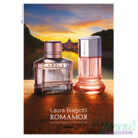 Laura Biagiotti Romamor Uomo EDT 125ml για άνδρες ασυσκεύαστo Men's Fragrances Without Package