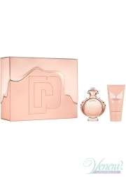 Paco Rabanne Olympea Set (EDP 80ml + Body Lotion 100ml) Metal Box για γυναίκες Γυναικεία σετ