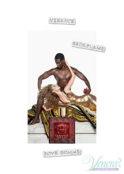 Versace Eros Flame Set (EDP 30ml + SG 50ml) για άνδρες Αρσενικά Σετ
