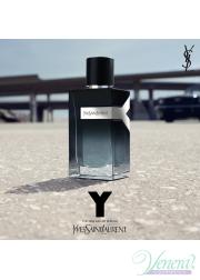 YSL Y Eau de Parfum Set (EDP 100ml + SG 50ml + AS Balm 50ml) για άνδρες