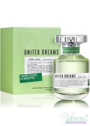 Benetton United Dreams Live Free EDT 80ml για γυναίκες Γυναικεία Аρώματα