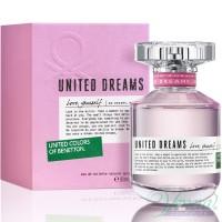 Benetton United Dreams Love Yourself EDT 80ml for Women Women's Fragrance