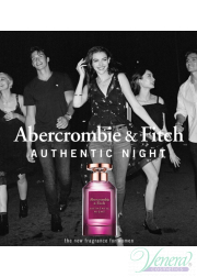 Abercrombie & Fitch Authentic Night Woman S...