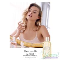 Abercrombie & Fitch First Instinct Sheer EDP 100ml for Women Without Package Women's Fragrances without package