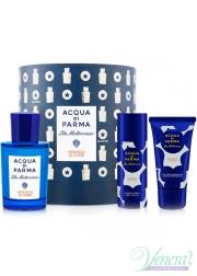 Acqua di Parma Blu Mediterraneo Arancia di Capri Set (EDT 75ml + BL 50ml + SG 40ml) για άνδρες και Γυναικες Unisex's Gift sets