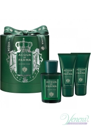 Acqua di Parma Colonia Club Set (EDC 100ml + Face Emulsion 50ml + SG 50ml) για άνδρες και Γυναικες Unisex Gift sets