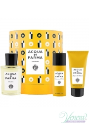 Acqua di Parma Colonia Set (EDC 100ml + SG 75ml + Deo Spray 50ml) για άνδρες και Γυναικες Σετ
