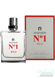 Aigner No1 Red EDT 100ml για άνδρες