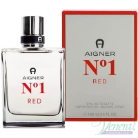 Aigner No1 Red EDT 100ml για άνδρες Ανδρικά Аρώματα