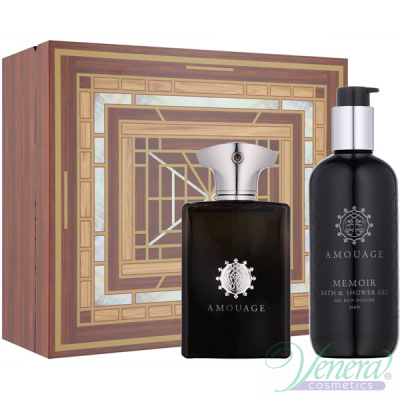 Amouage Memoir Man Set (EDP 100ml + SG 300ml) για άνδρες