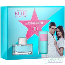 Antonio Banderas Blue Seduction Set (EDT 50ml + BL 100ml) για γυναίκες