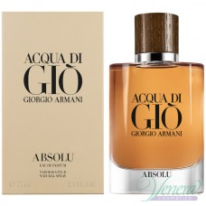 Armani Acqua Di Gio Absolu EDP 75ml για άνδρες