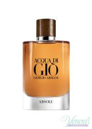 Armani Acqua Di Gio Absolu EDP 75ml για άνδρες ασυσκεύαστo Ανδρικά Аρώματα χωρίς συσκευασία