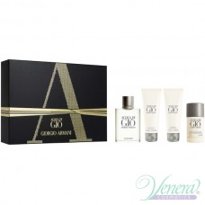Armani Acqua Di Gio Set (EDT 100ml + AS Balm 75ml + SG 75ml + Deo Stick 75ml) για άνδρες