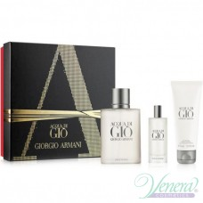 Armani Acqua Di Gio Set (EDT 100ml + EDT 15ml + SG 75ml) για άνδρες