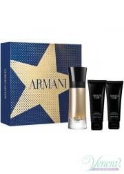 Armani Code Absolu Set (EDP 60ml + AS Balm 75ml + SG 75ml) για άνδρες Ανδρικά Σετ