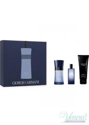 Armani Code Colonia Set (EDT 50ml + EDT 15ml + SG 75ml) για άνδρες Men's Gift sets