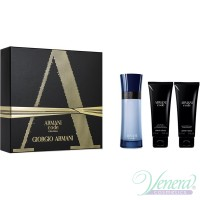 Armani Code Colonia Set (EDT 50ml + AS Balm 75ml + SG 75ml) για άνδρες Ανδρικά Σετ