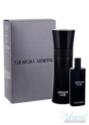 Armani Code Set (EDT 75ml + EDT 15ml) για άνδρες Ανδρικά Σετ