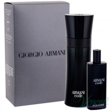 Armani Code Set (EDT 75ml + EDT 15ml) για άνδρες