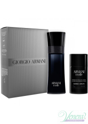 Armani Code Set (EDT 75ml + Deo Stick 75ml) για άνδρες Sets