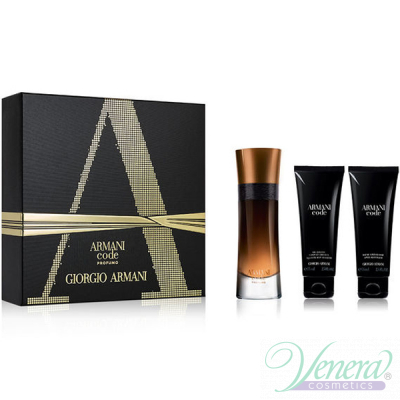 Armani Code Profumo Set (EDP 60ml + AS Balm 75ml + SG 75ml) για άνδρες