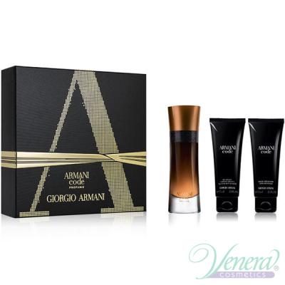 Armani Code Profumo Set (EDP 60ml + AS Balm 75ml + SG 75ml) για άνδρες Men's Gift sets
