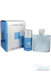 Azzaro Chrome Set (EDT 100ml + Deo Stick 7...