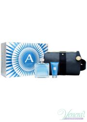Azzaro Chrome Set (EDT 100ml + SG 50ml + Bag) για άνδρες Αρσενικά Σετ