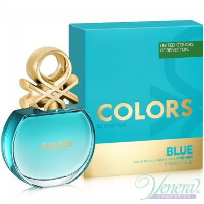 Benetton Colors de Benetton Blue EDT 80ml για γυναίκες Γυναικεία αρώματα