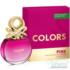 Benetton Colors de Benetton Pink EDT 50ml για γυναίκες