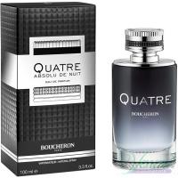 Boucheron Quatre Absolu de Nuit Pour Homme EDP 100ml for Men Men's Fragrances