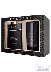 Bvlgari Man In Black Set (EDP 100ml + Deo ...