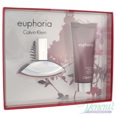 Calvin Klein Euphoria Set (EDP 30ml + Body Lotion 100ml) για γυναίκες Γυναικεία σετ