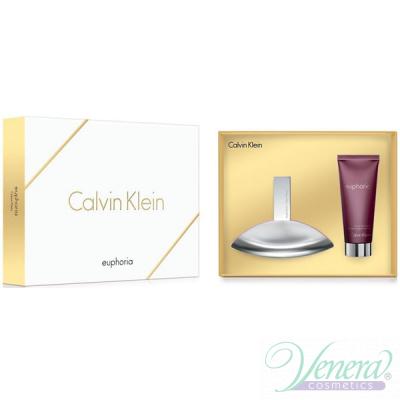 Calvin Klein Euphoria Set (EDP 100ml + Body Lotion 100ml) για γυναίκες Γυναικεία σετ