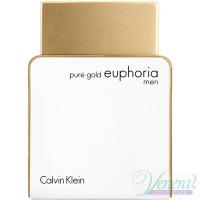 Calvin Klein Pure Gold Euphoria Men EDP 100ml για άνδρες ασυσκεύαστo