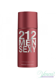Carolina Herrera 212 Sexy Deo Spray 150ml για άνδρες Men's face and body product's