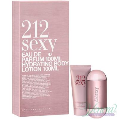 Carolina Herrera 212 Sexy Set (EDP 60ml + BL 100ml) για γυναίκες Women's Gift sets