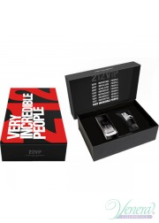 Carolina Herrera 212 VIP Black Set (EDP 100ml + SG 100ml) για άνδρες Men's Gift sets