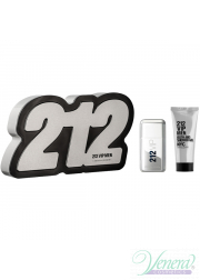 Carolina Herrera 212 VIP Men Set (EDT 50ml + Shower Gel 75ml) για άνδρες Men's Gift sets