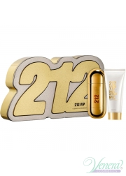 Carolina Herrera 212 VIP Set (EDP 80ml + Body Lotion 100ml) για γυναίκες Gift Sets