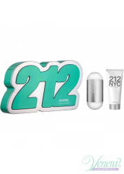 Carolina Herrera 212 Set (EDT 60ml + Body Lotio...