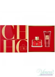 Carolina Herrera CH Privee Set (EDP 50ml + Body Cream 75ml) για γυναίκες Γυναικεία Σετ