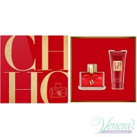 Carolina Herrera CH Privee Set (EDP 80ml + Body Cream 100ml) για γυναίκες Γυναικεία Σετ