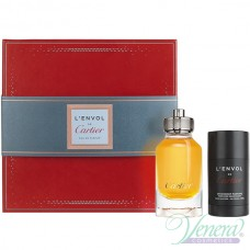 Cartier L'Envol Set (EDP 80ml + Deo Stick 75ml) για άνδρες